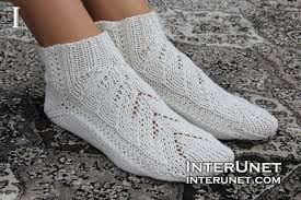 Knitted Sock Patterns Magnificent How To Knit Socks On Two Needles Interunet