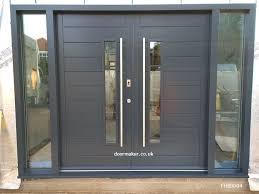 exterior front double doors