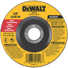 metal grinding wheel. dewalt 4-1/2\ metal grinding wheel b