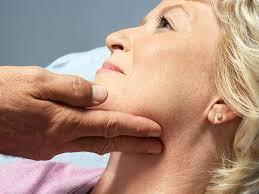 preauricular lymph node is swollen