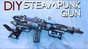 DIY STEAMPUNK GUN/ ARMA STEAMPUNK- CANAL STEAMPUNK