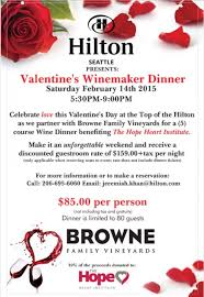 valentine s day at top of the hilton