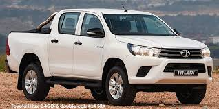 Toyota Hilux 2.4GD-6 double cab SRX Specs in South Africa - Cars.co.za