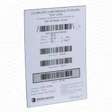 Barcode Mil Size Chart Gs1 Calibrated Conformance Standard Test Card For Gs1 128 And Other 10mil Aperture Bar Code Verifiers