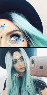 festival makeup tutorials makeup tutorial festival awesome glitter and rhinestone make up