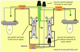 house wiring one light two switches readingrat net 3 way light switch wiring at Household Wiring Light Switches