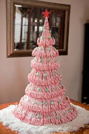 DIY Tutorial Candycane Tree Centerpiece Excellent Instructions Christmas Tree With Candy Canes
