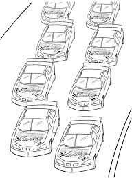 Small Picture Nascar coloring pages race cars ColoringStar