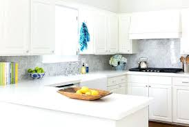 off white subway tile kitchen with gray marble tiles glass grey grout