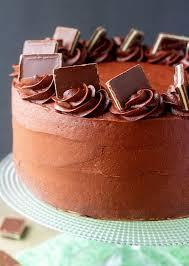 Chocolate Peppermint Cheesecake Cake i am baker