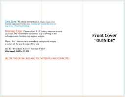 Trifold Brochure Size Trifold Size Barca Fontanacountryinn Com