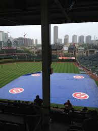 Wrigley Field Section 413l Row 6 Seat 1 Chicago Cubs Vs