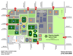 Dignity Sports Park Seating Chart General Parking Information Dignity Health Sports Park