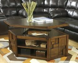 ashley coffee table with stools round glass 4