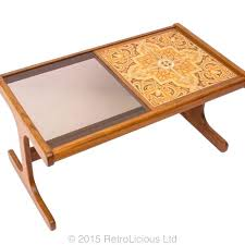 g plan coffee table glass ceramic tile top era retro diy with tiles
