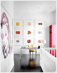 office wall frames. Ryann-ford-interior-office-wall-of-picture-frames Office Wall Frames