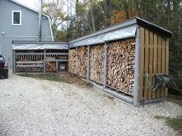 Image of: firewood storage info