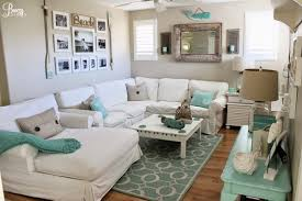 Perfect home decor ideas with colorful variation Warm Make Your Living Room Feel Like Seaside Retreat By Using Tan And Blue Color Scheme With Few Pieces Of Nautical Decor Shutterfly 50 Simple Living Room Ideas For 2019 Shutterfly
