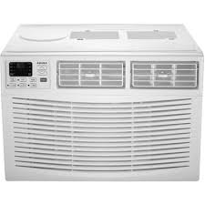 Amana - 1500 Sq. Ft. Window Air Conditioner White Front_Standard AMAP242BW Best Buy