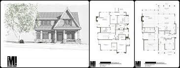 calagr custom home infill design exterior front floorplan