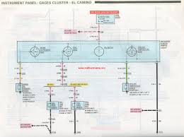 temperature gauge question 1985 help! el camino central forum Electric Speedometer Gauge Wiring Diagram look at this schematic