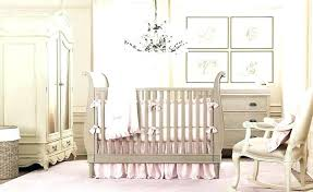 baby room chandelier idea for girls adorned with cute wallpaper and white nursery glass boy