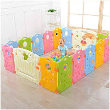 outdoor play yard for toddlers beautiful pictures baby playpen kids activity area multicolor 16 panel
