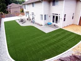 artificial turf backyard. Brewer-Constr-synthetic-turf-northwest Artificial Turf Backyard I