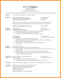 Electronic Engineer Student Resume 24 Engineering Student Resume Writing A Memo 12