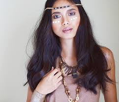 Bohemian Makeup Look And Style