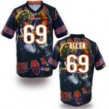 Jersey Authentic Womens Jared For Youth Kids Bears Allen Sale