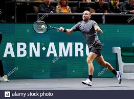 ROTTERDAM, ABN AMRO World Tennis Tournament, 14-02-2020, Ahoy Rotterdam,  Dan Evans (GBR) Credit: Pro Shots/Alamy Live News Stock Photo - Alamy