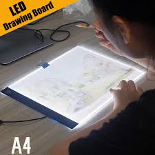 Artist Light Board Ultra Thin A4 Led Light Pad Artist Light Box Table Tracing Drawing Board Pad Diamond Painting Embroidery Tools