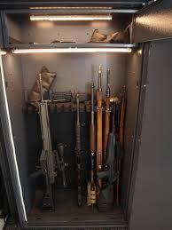 Battery Powered Lights For Gun Safes Cleaned Up Gun Safe Album On Imgur