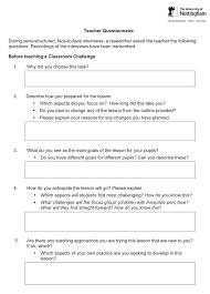 figure 6 teacher questionnaire