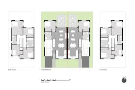 Layout Example Of A 4 5 Bedroom Semi Detached House With An Integrated  Garage