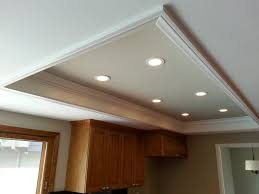 custom kitchen lighting. The Custom Recessed Lights Replace Old Fluorescent Light Box New For Ideas Kitchen Lighting