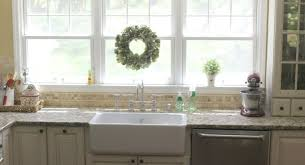 sink likable farmhouse kitchen sinks with backsplash cute
