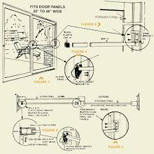 how to install the 80 006 sliding glass door security bar