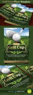 golf event flyer template by oblik graphicriver golf event flyer template sports events