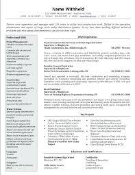 How To Write A Resume For A Federal Job Cover Letter Carpentry