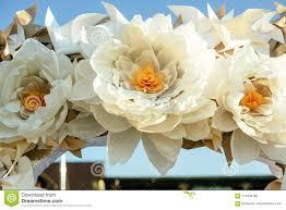 Paper Flower Wedding Decorations Paper Flowers In Wedding Decor Luxury Wedding Decorations For