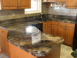concrete stained countertops
