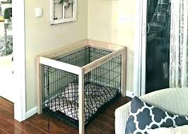 furniture style dog crates. Dog Crate Furniture Bench Wooden Pet Style Table Crates .