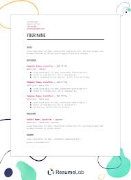 resume example for free free resume templates download start making your resume