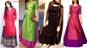 Designer Long Skirts Party Wear Images Long Kurti With Skirt Designs Long Kurti With Lehenga Kurta With Lehenga