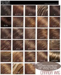 Wig Color Chart Codes Jon Renau And Easihair Colorcharts Canada Wigs
