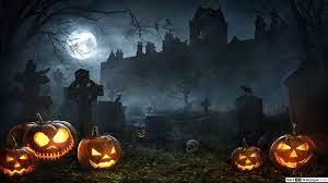 Halloween Night in Graveyard HD ...