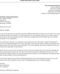15 inspiring sample cover letter for bank teller resume bank teller resume cover letter