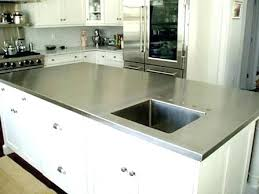 stainless counter stainless steel kitchen counter tops brilliant stainless steel countertops cost stainless steel countertops cost
